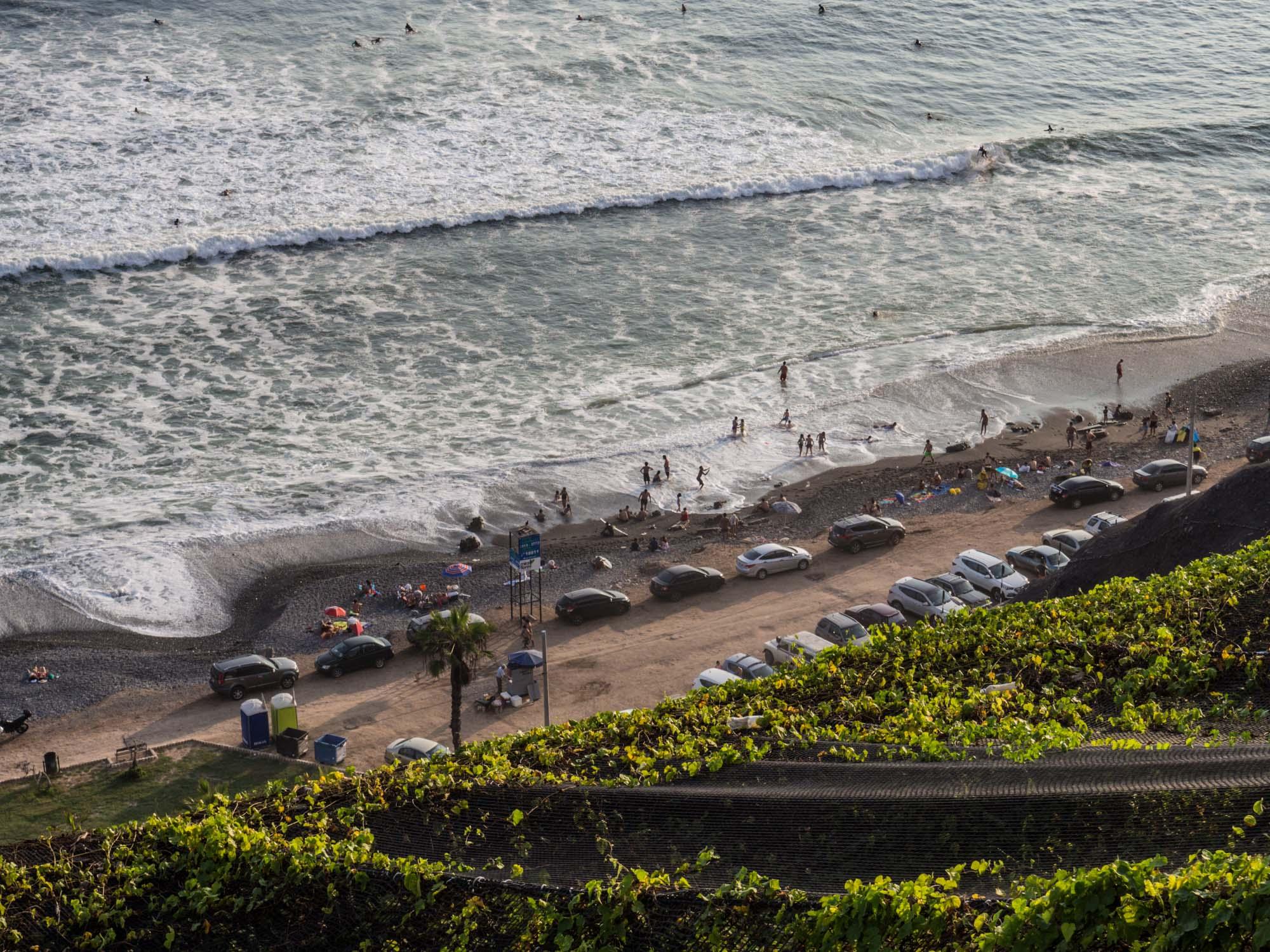 Surfers Lima Peru