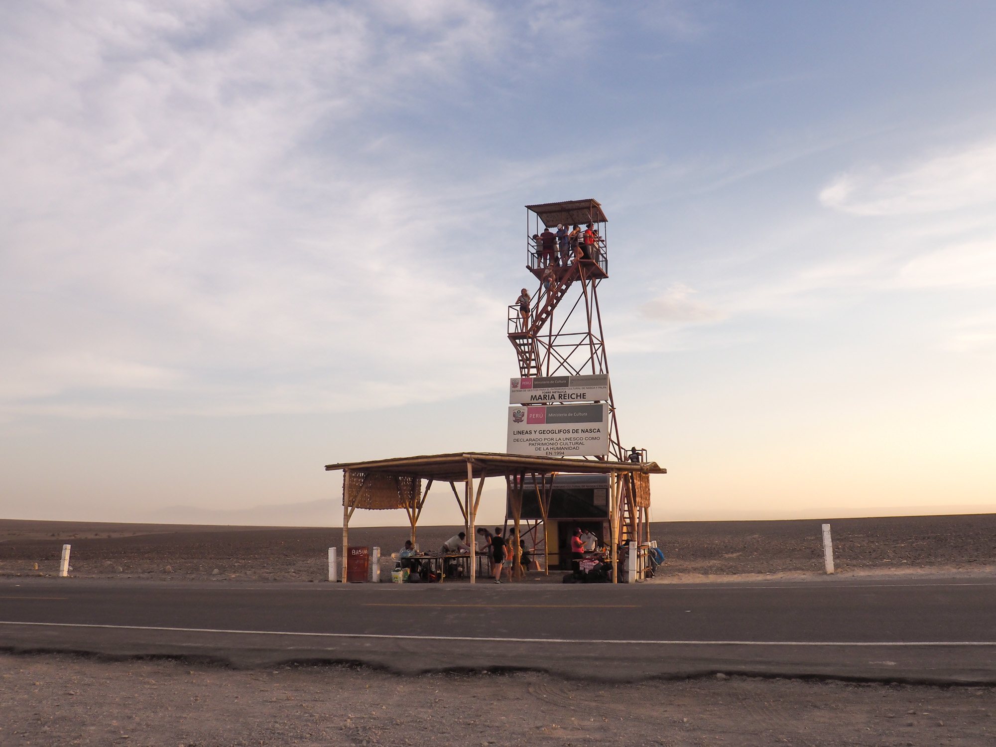 nazca viewing tower