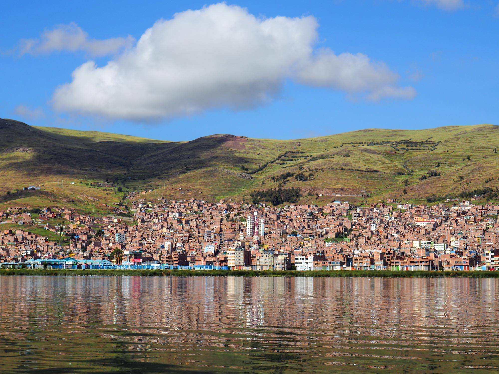 Puno peru lake titicaca