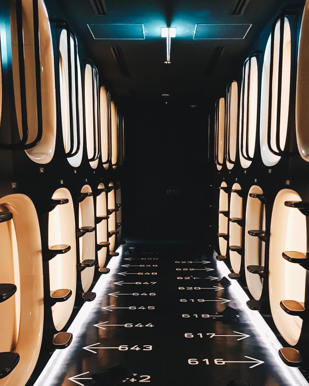 capsule hotel review