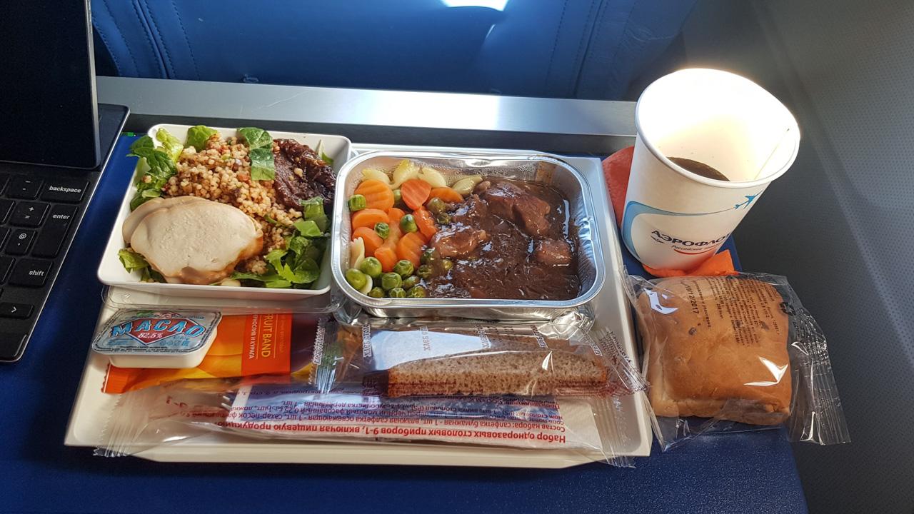 aeroflot-dinner-economy