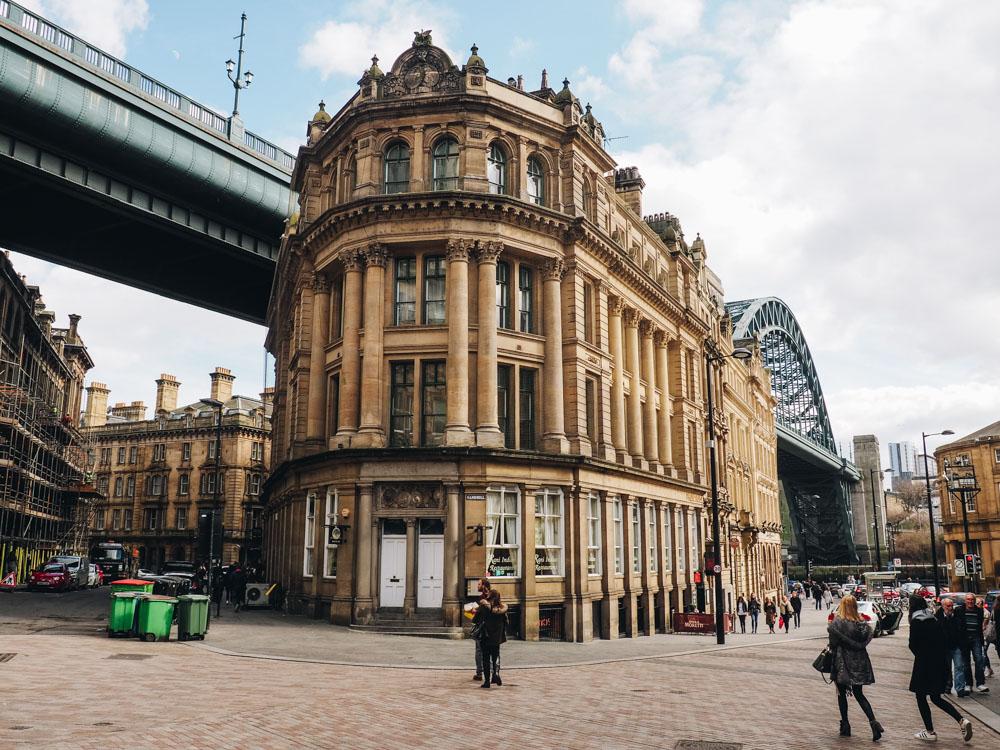 Newcastle Queen Street Tyne Bridge