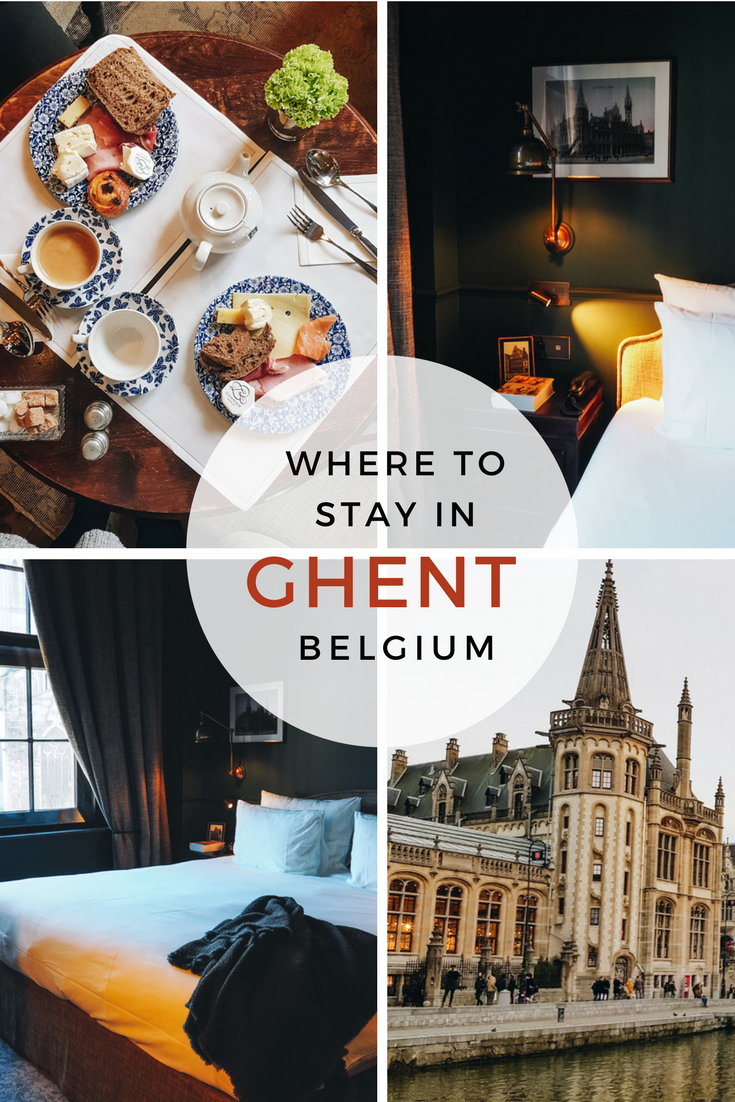 The most beautiful boutique hotel in the heart of Ghent, Belgium.