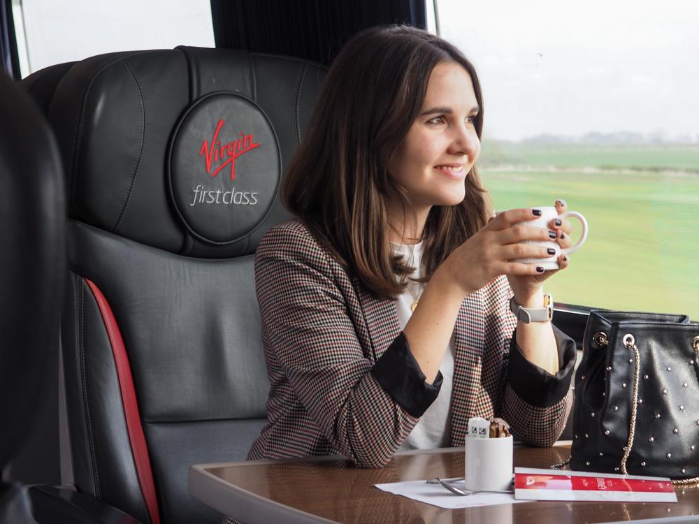 Virgin trains East Coast first class