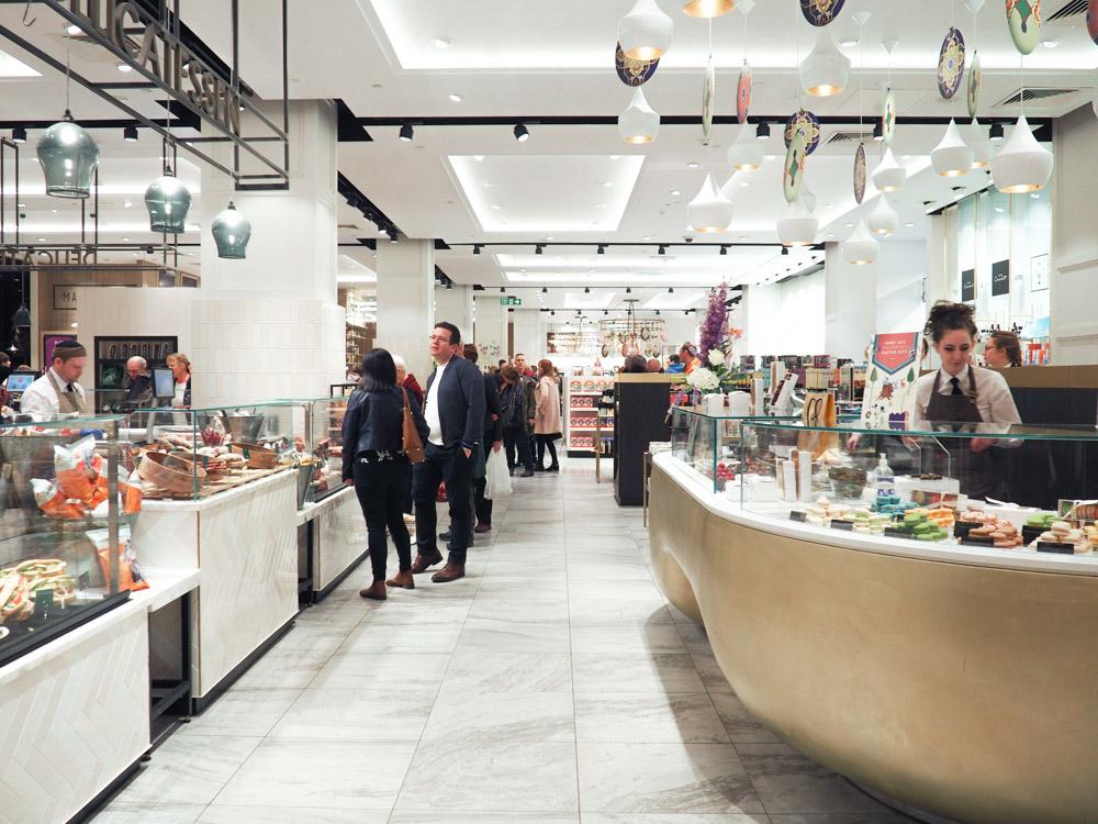 fenwicks newcastle food hall
