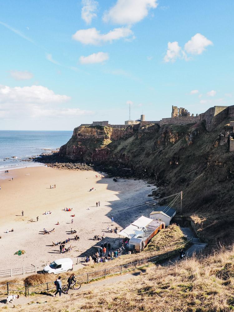 tynemouth priory beach 2