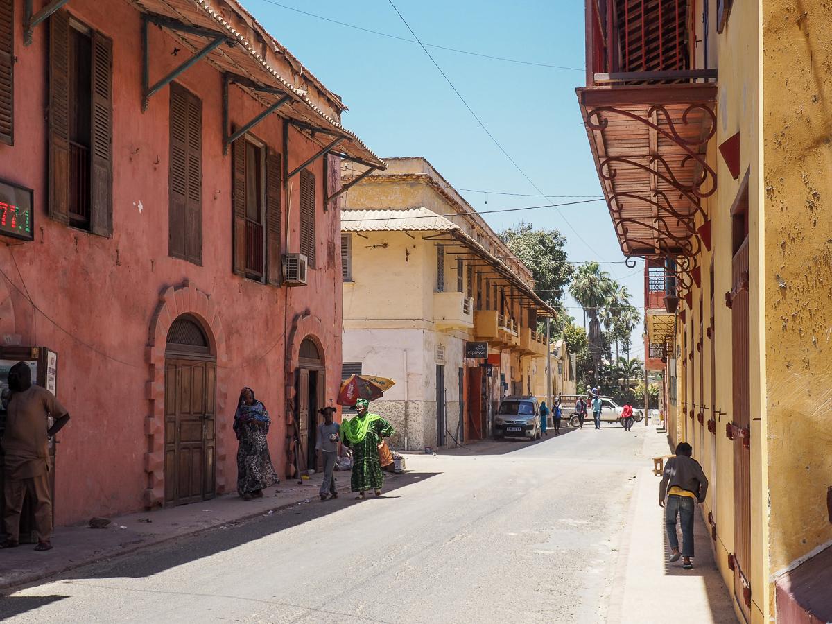 ST Louis city Senegal
