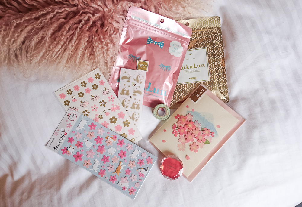 Japanese stationery and stickers
