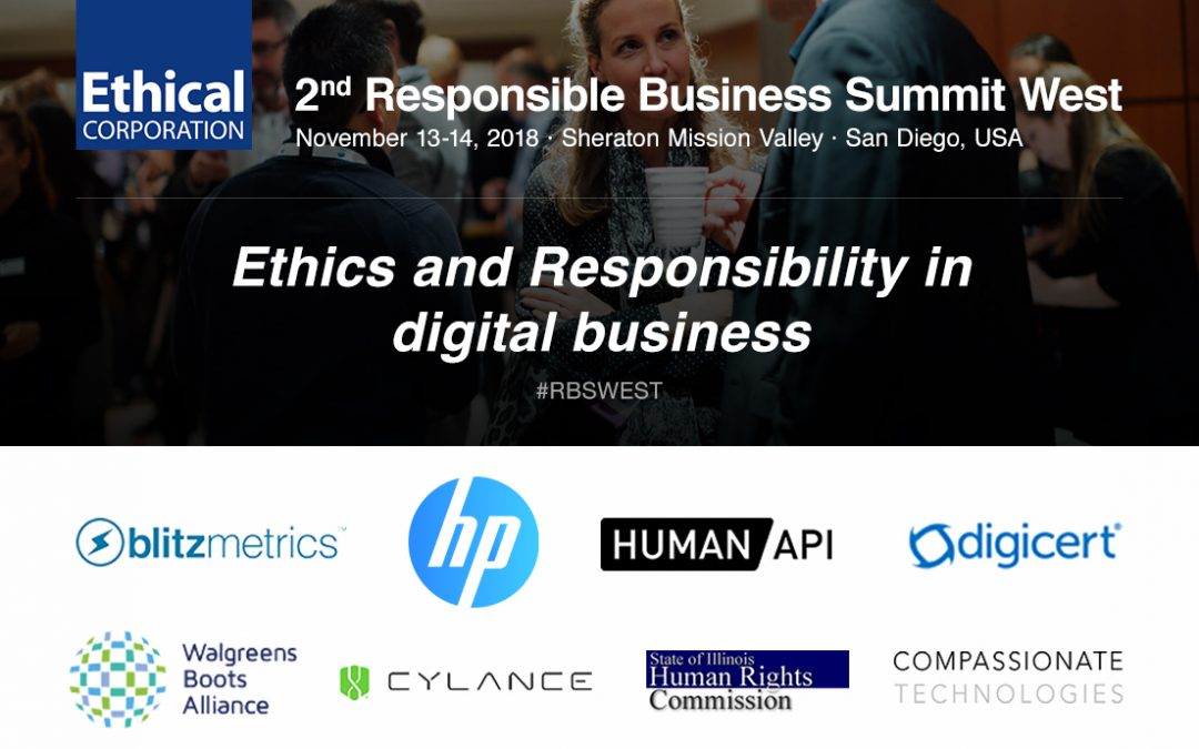 UKCSA Partners With Ethical Corporation for the 2ndResponsible Business Summit West 2018