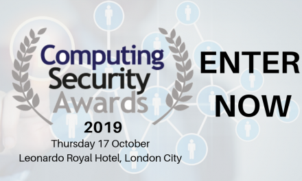 Make Your Nominations NOW for the 2019 Computing Security Awards