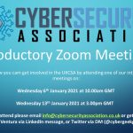 Introductory Meetings on Zoom for the UK Cyber Security Association