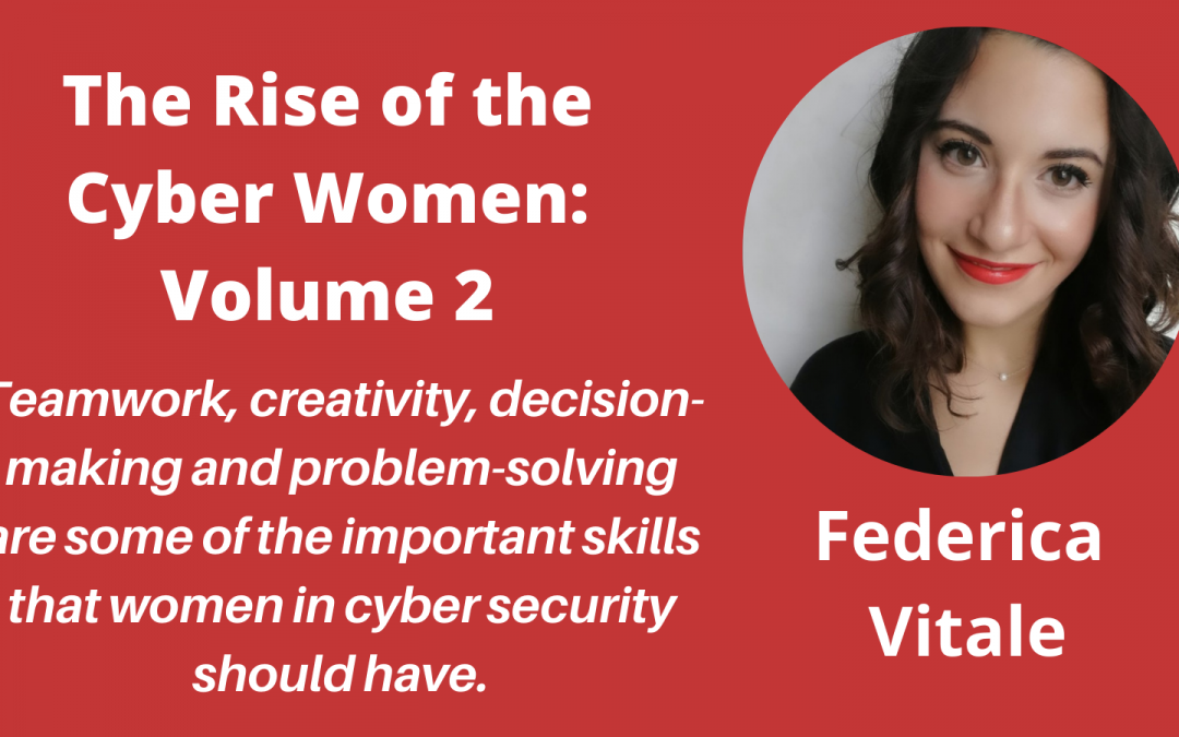 """Meet the Authors in """"The Rise of the Cyber Women: Volume 2"""" – a Q&A With Federica Vitale"""
