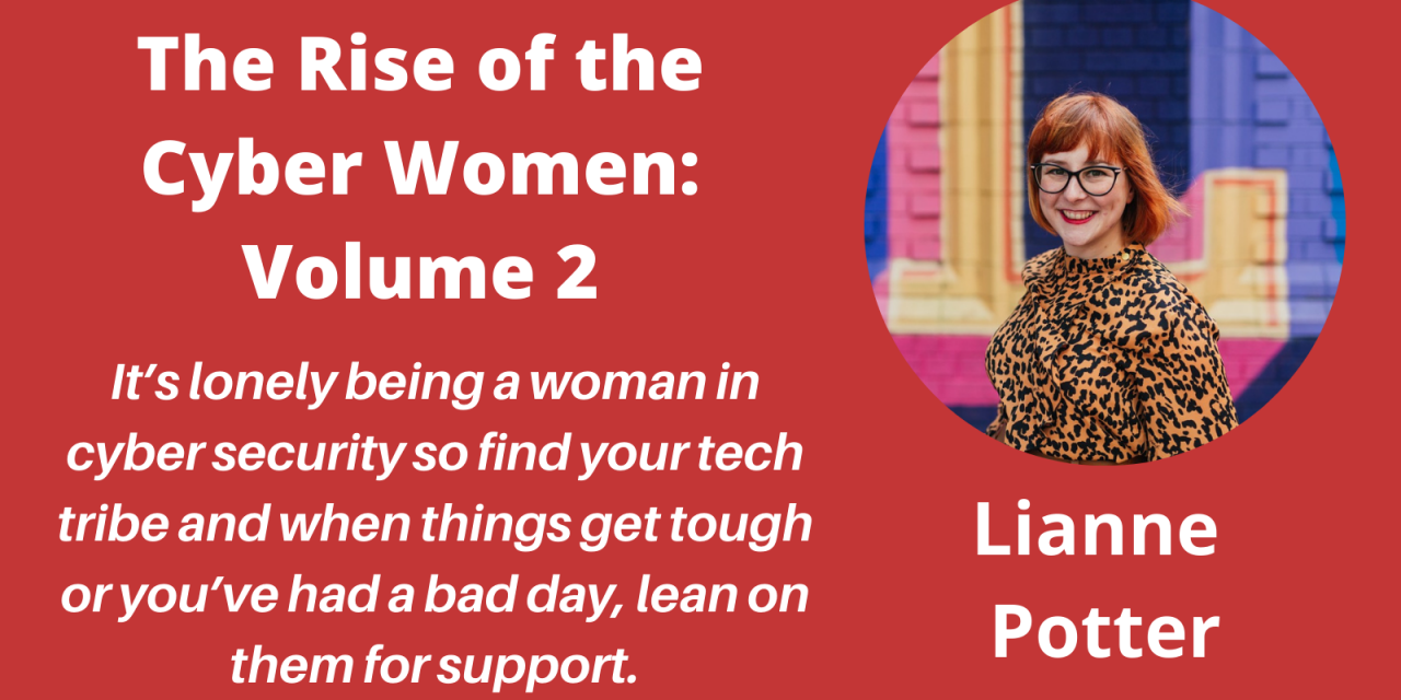 """Meet the Authors in """"The Rise of the Cyber Women: Volume 2"""" – a Q&A with Lianne Potter"""