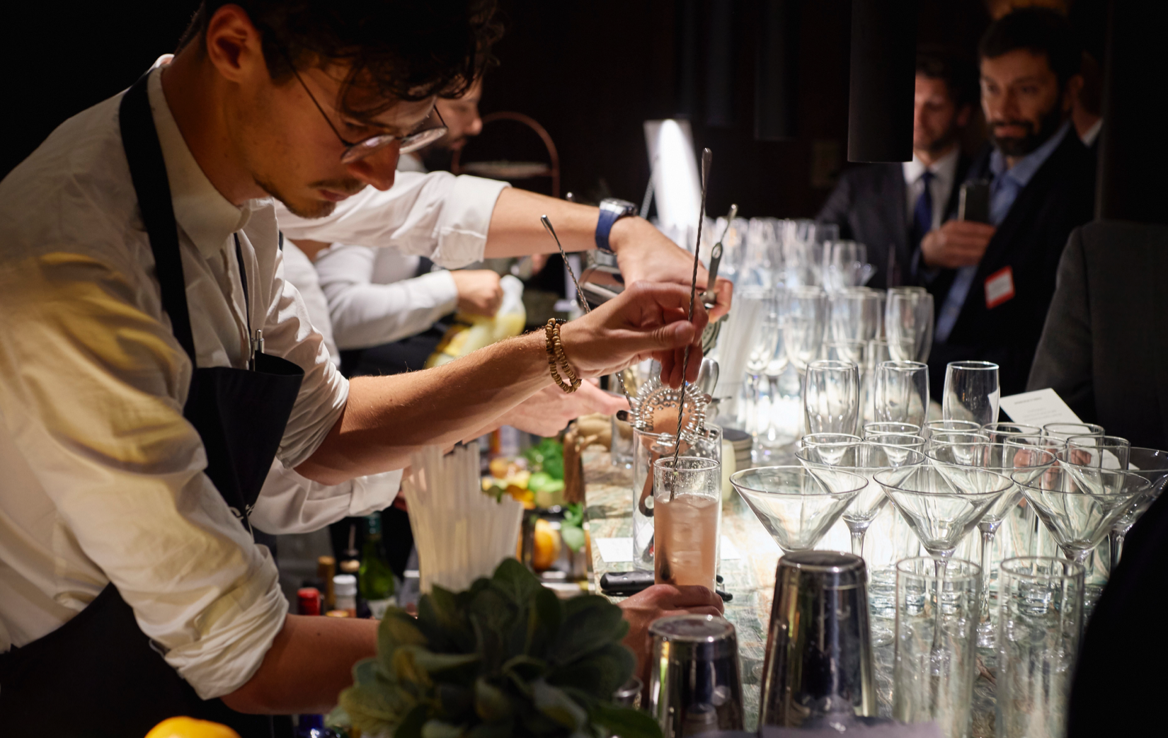 drinks reception london