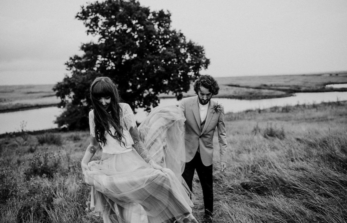 Wedding Elmley nature reserve