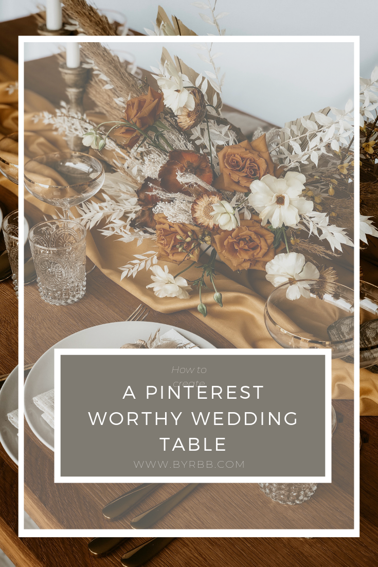 Pinterest How to table design