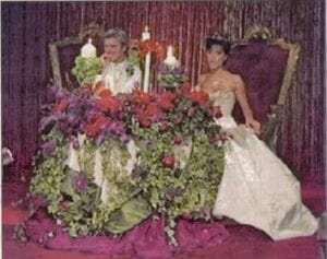 David-and-Victoria-Beckham-wedding-thrones
