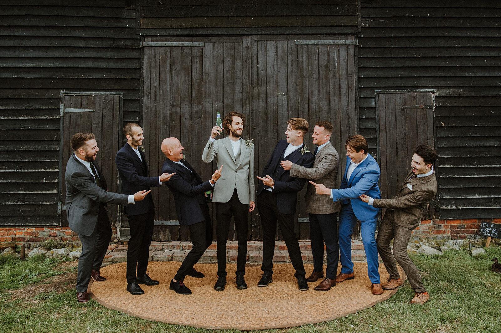 post Covid wedding