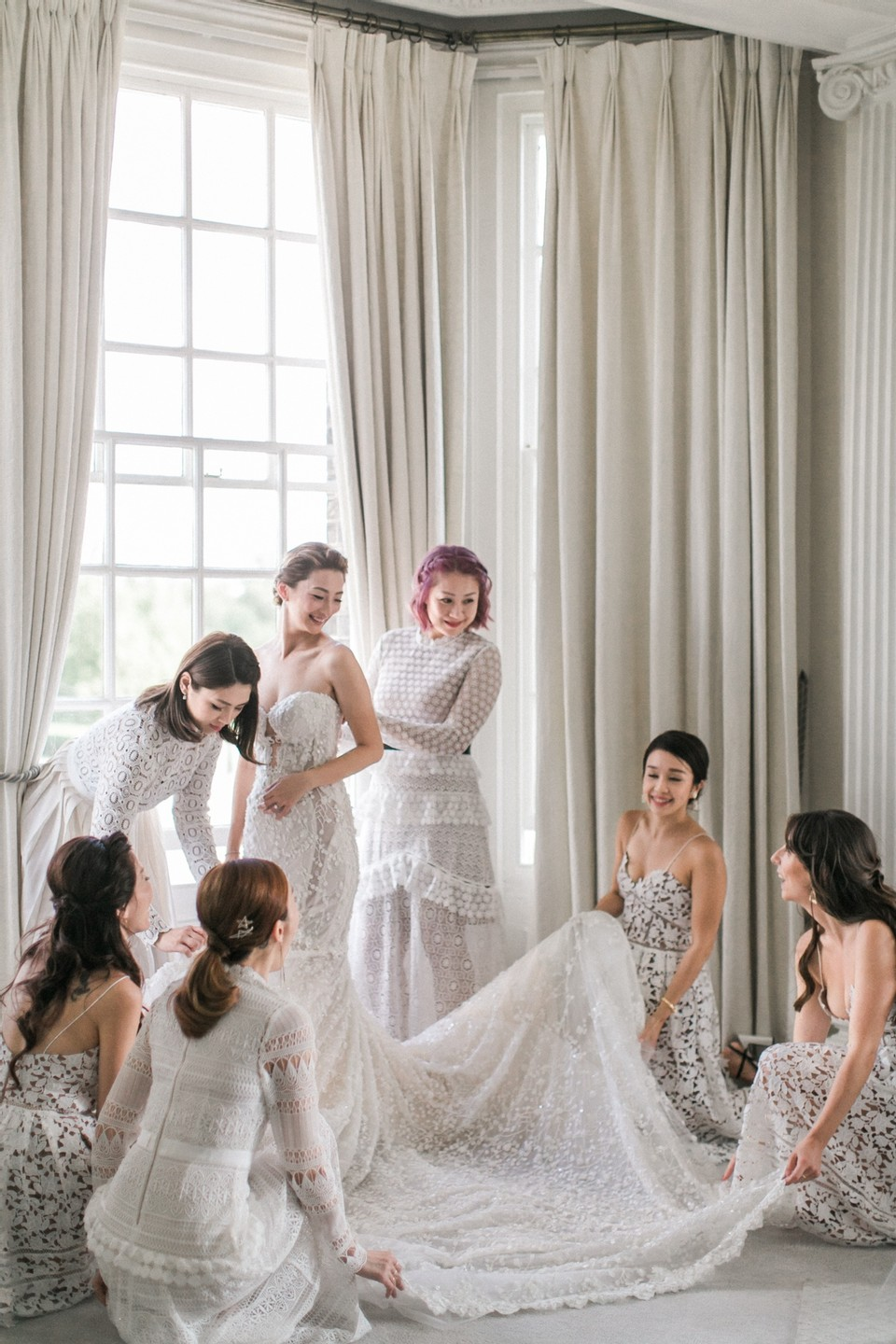 alternative bridesmaids outfits
