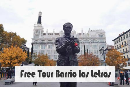 Free tour barrio de las letras