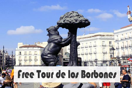 Free tour Madrid de los Borbones