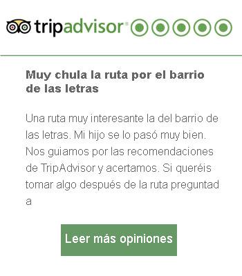 Opinión Tripadvisor