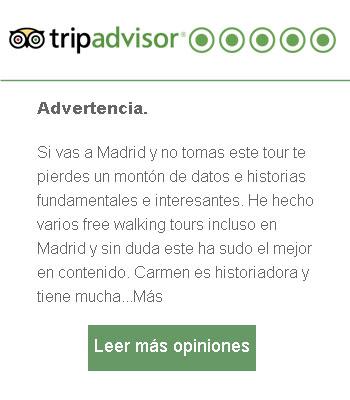 opinión free tour Madrid