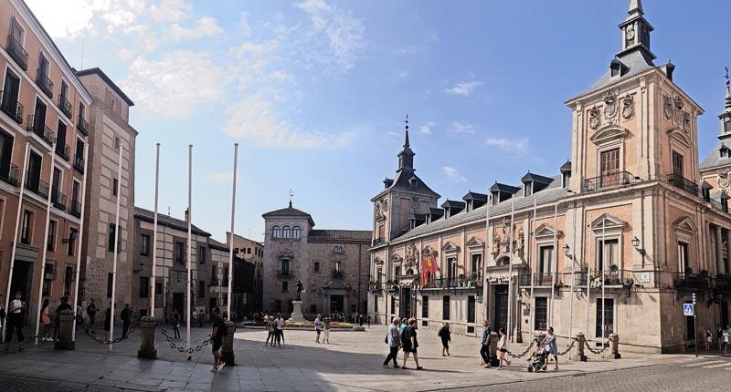 Plaza la Villa, Madrid