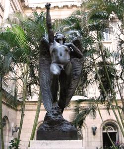 Ángel Caído de Salvador Buemi