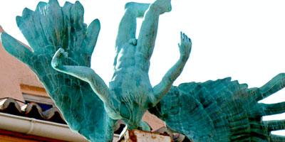 Lee más sobre el artículo Escultura Accidente aéreo