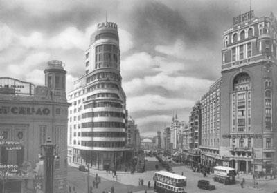Foto antigua Edificio Capitol