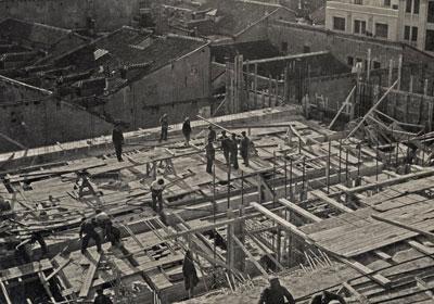 Construcción del Edificio Capitol