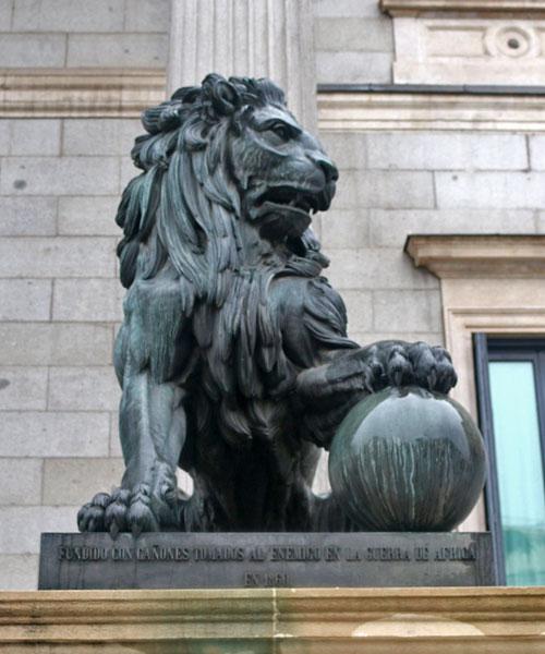 leones del congreso - Daoiz