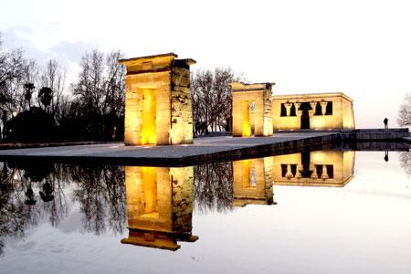 Visitar el Templo de Debod