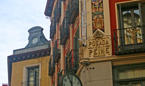 Posada del Peine, el hotel más antiguo de Madrid
