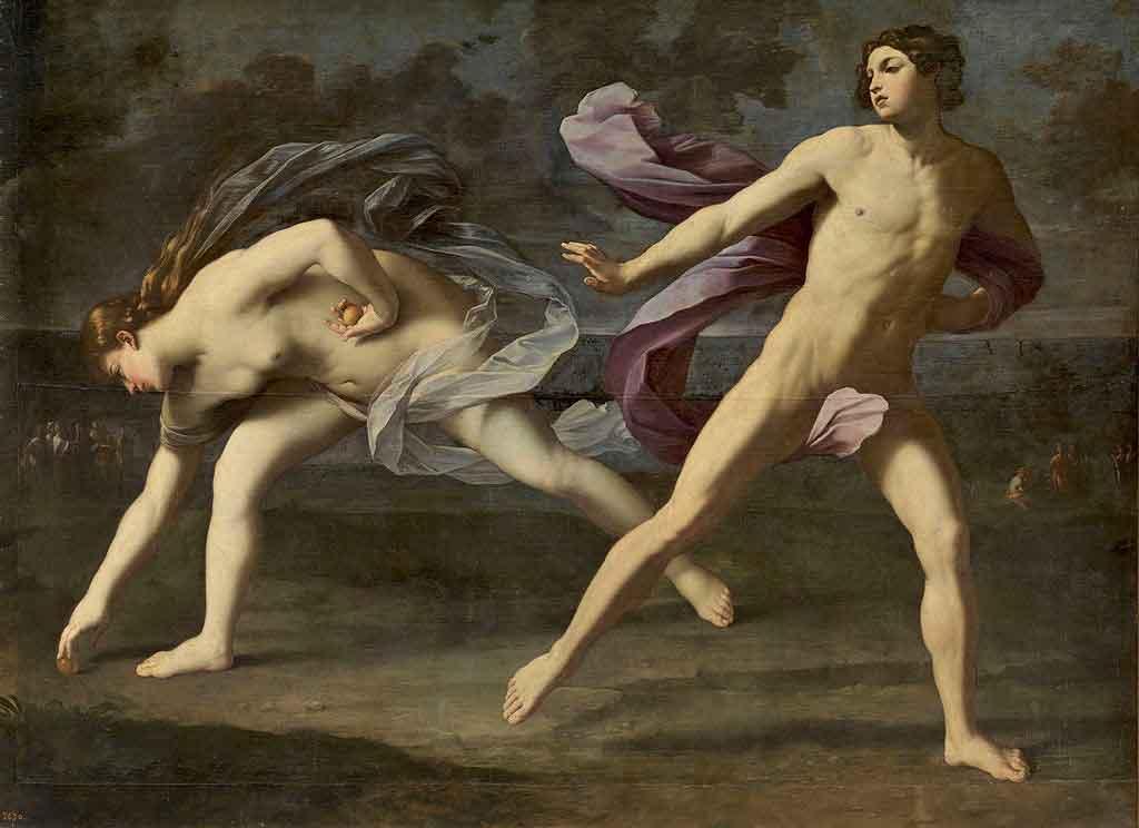 carrera hipomenes y atalanta