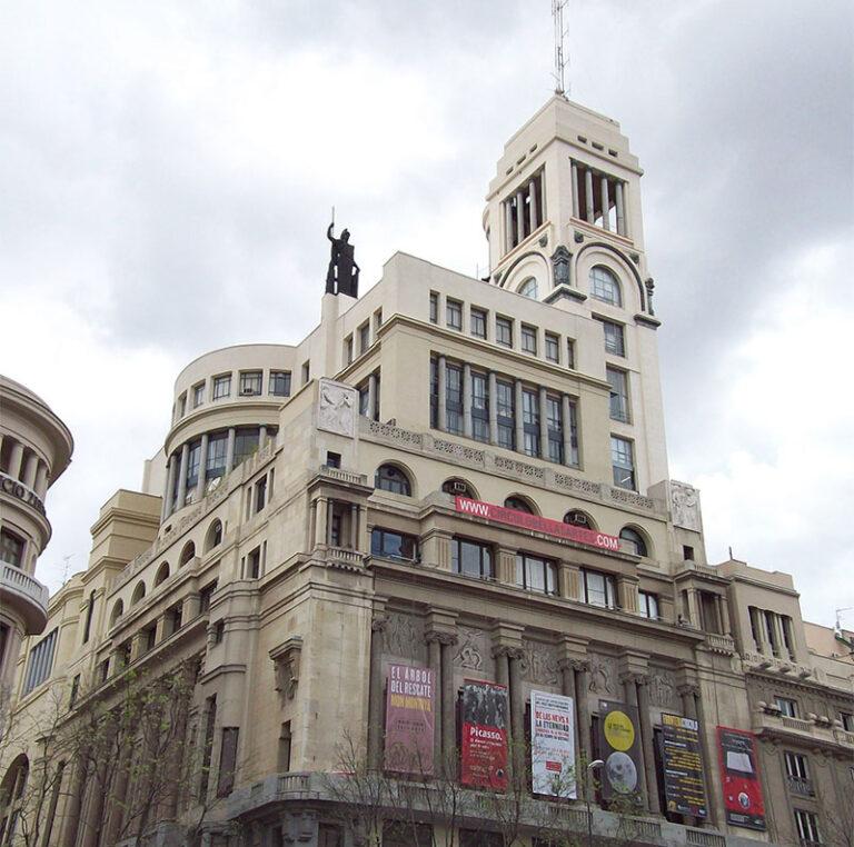 edificio del circulo de bellas artes