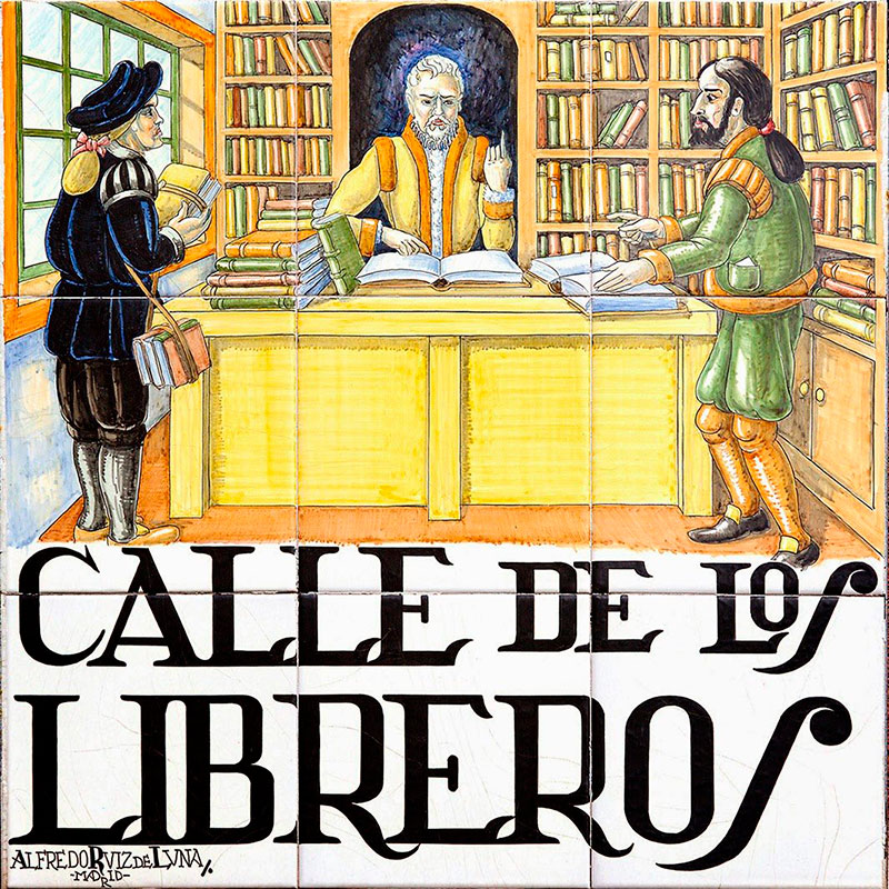 Calle de los libreros