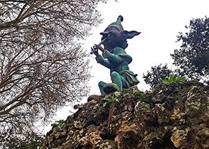 El duende esquivo del Retiro