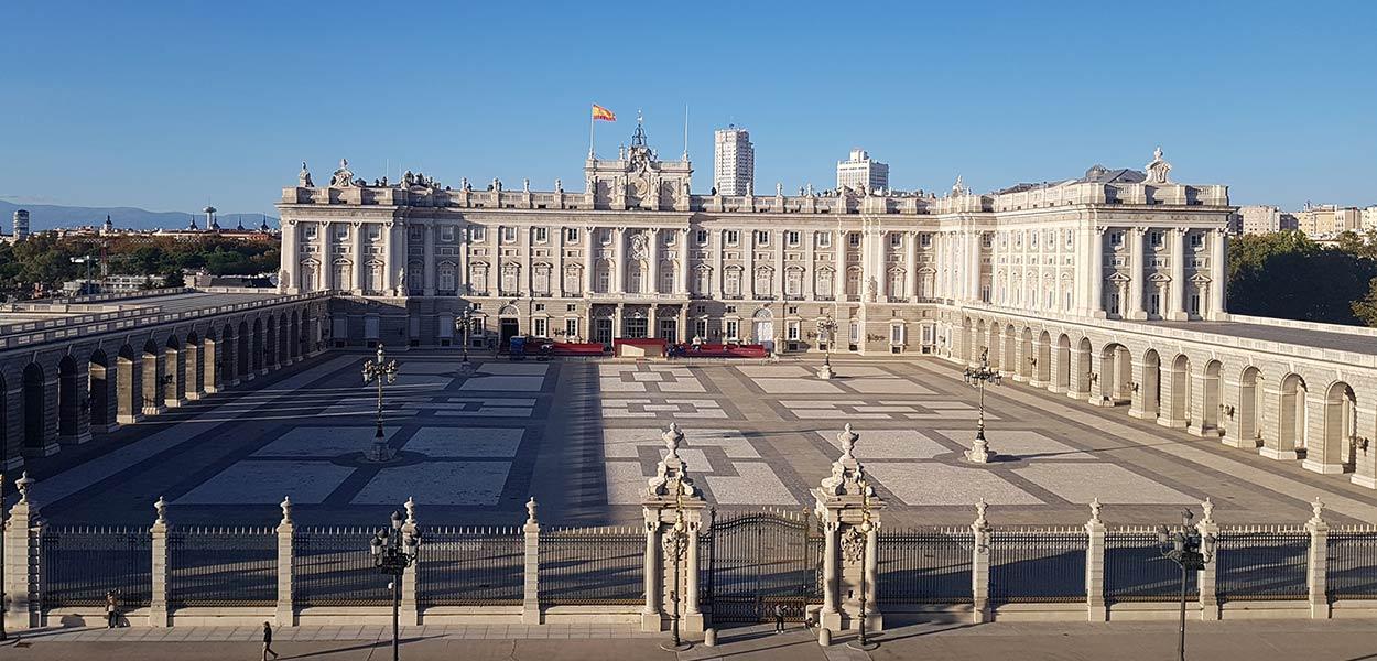 Palacio Real desde Catedral de la Almudena