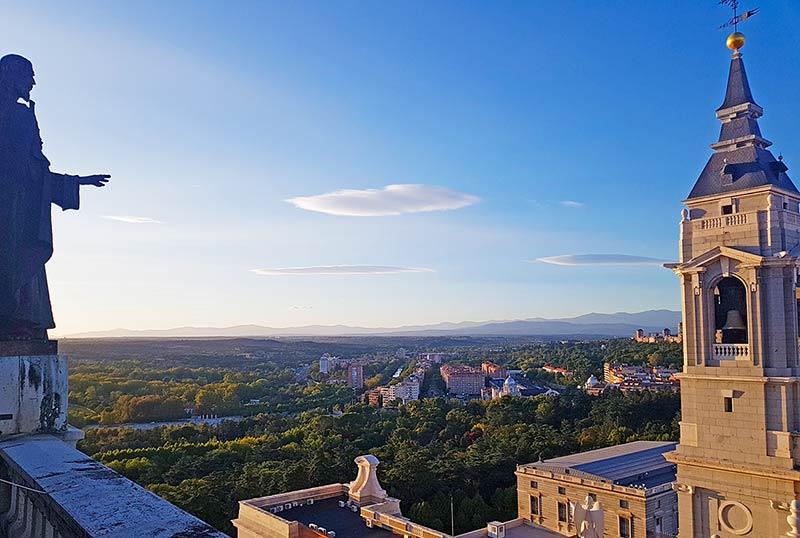 vistas desde la Catedral de la Almudena