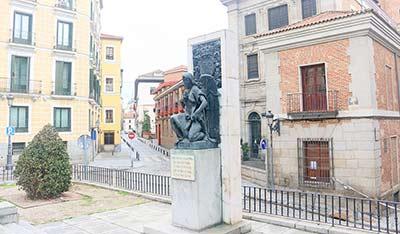 Flores para atentar contra el Rey Alfonso XIII en la Calle Mayor
