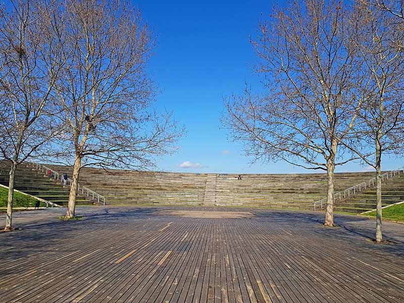 auditorio parque lineal del Manzanares