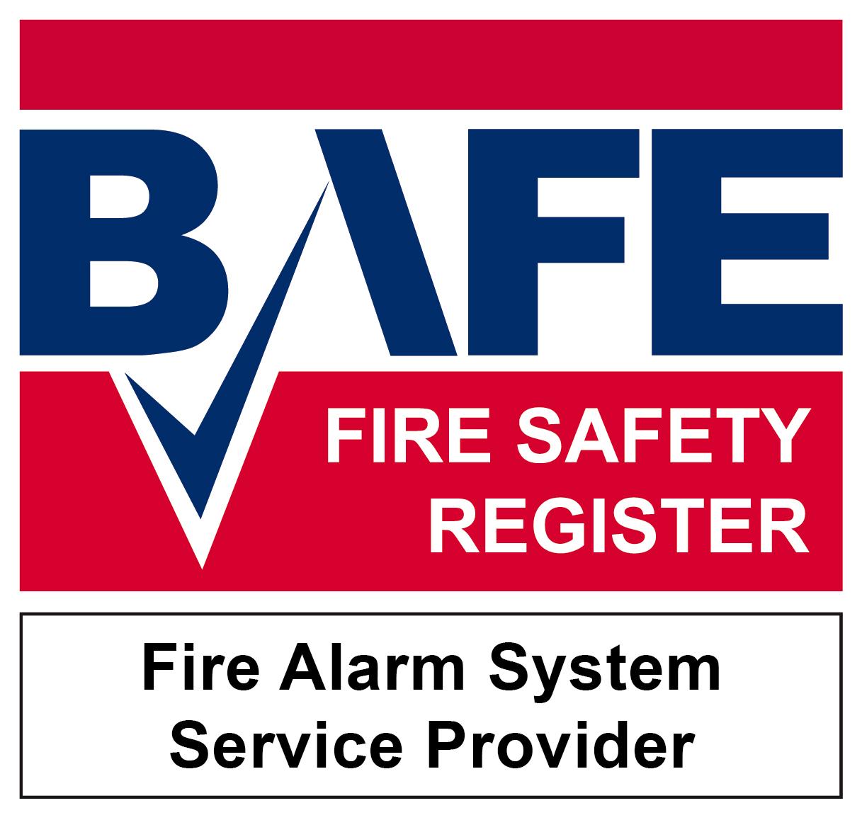 BAFE Fire Alarm Service logo