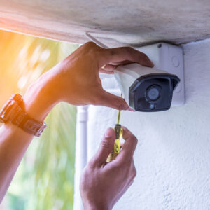 CCTV camera servicing