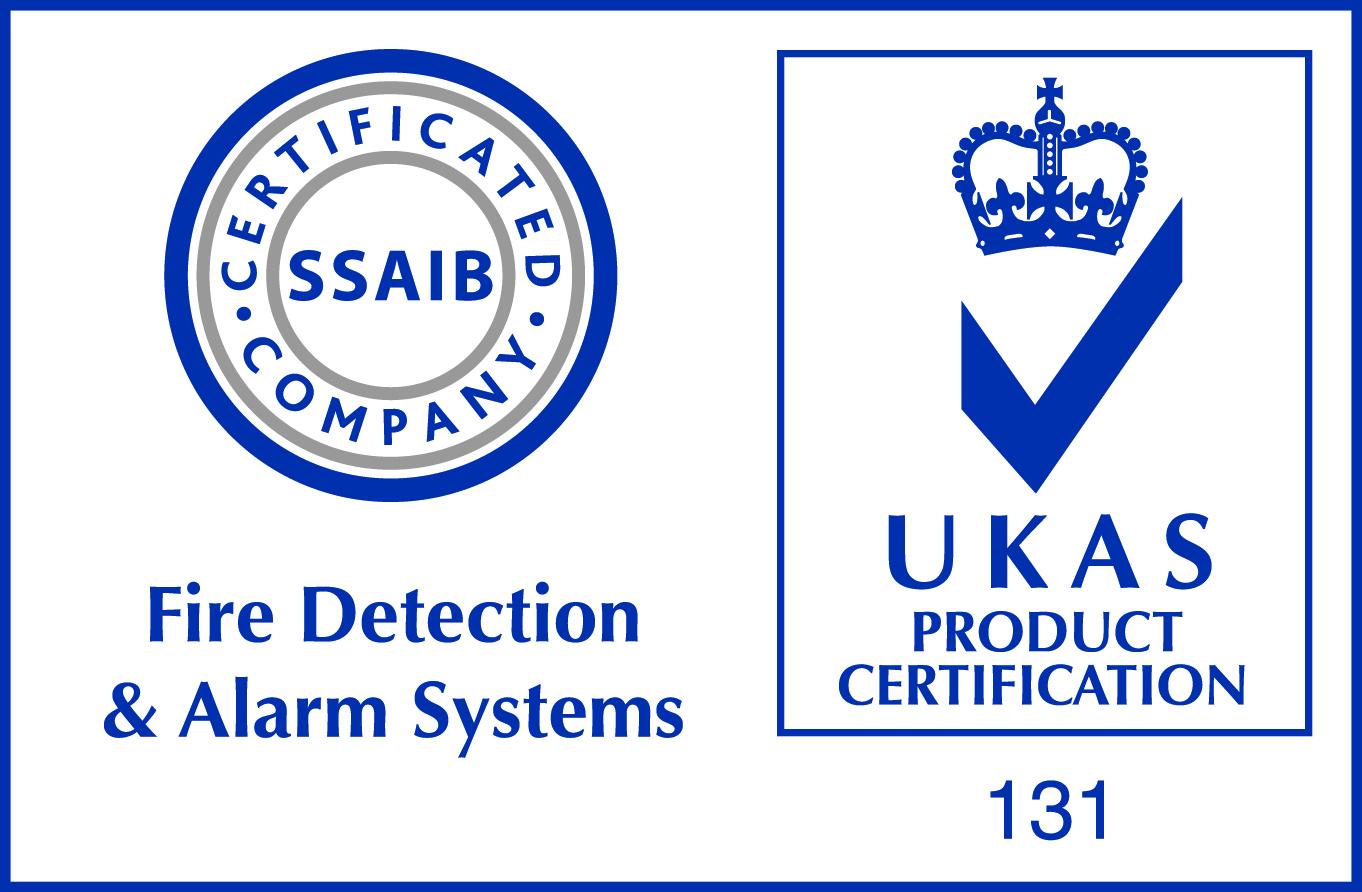 SSAIB Fire alarm logo