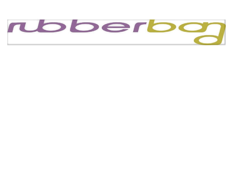Rubberband: Logo and Sinage Design & Manual