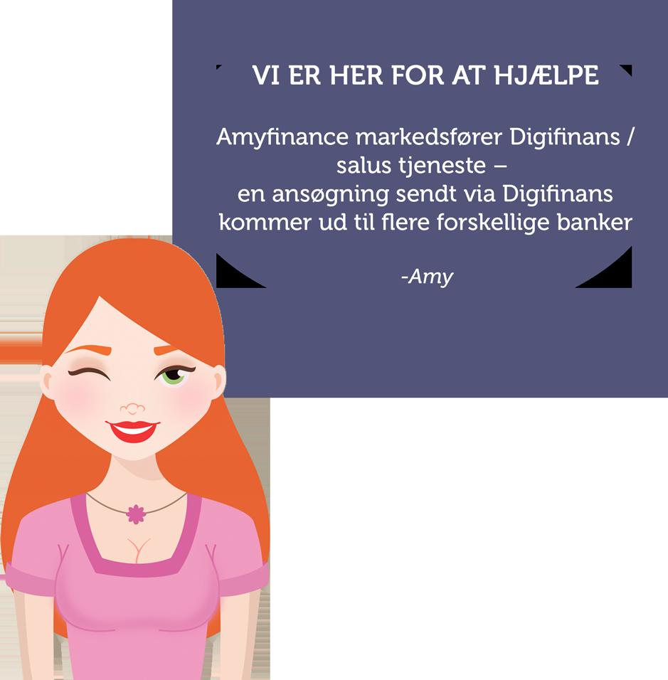 Amyfinans.com Vi hjælper dig