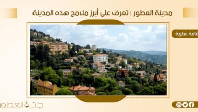مدينة العطور - جنة العطور