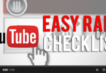 youtube easy rank checklist
